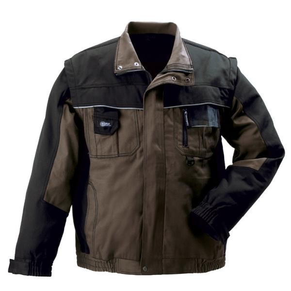 Coverguard Bound GREEN Kabát 8BOVG levehető ujjakkal, dzseki fazon, rejtett húzózár, 8 zseb, fényvisszaverő díszcsíkok **KIFUTÓ TERMÉK**