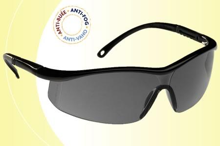 Lux Optical Astrilux sötét, karc- és páramentes lencse, fekete, állítható szárral 60523-as