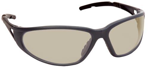 Lux optical Freelux munkavédelmi szemüveg, in/out bel- és kültéri lencsével, UV400-as védelemmel, könnyű, szürke keret 62127-es