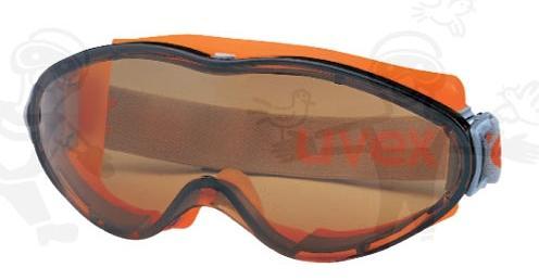 UVEX Ultrasonic barna karc- és páramentes (HC-AF) Ultrasonic szemüveg U9302247-es