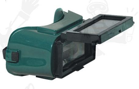 Lux Optical munkavédelmi hegesztőszemüveg, Ferlux felhajtható 50x105 lencse, hőálló műanyag keret, pormentes szellőzőgombok 60818-as