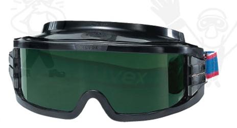 UVEX 9301 Ultravision gumipántos hegesztőszemüveg, karc- és páramentes lencse (HC-AF) U9301245-ös