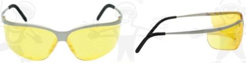 Metaliks Sport sárga lencse, szilikon orrnyereg, gumis szárvég 60146-os