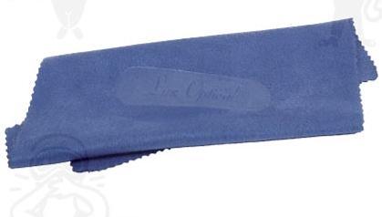 Lux Optical mikroszálas szemüvegtörlő kendő Kék, 15 x 15 cm 61421-es