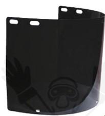 Polikarbonát sötét látómező, 390 x 180 mm 60713-as