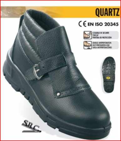 QUARTZ (S3) 9QUAR40 lábfejvédős bőr bakancs, gyorscsat, TPU (180 186     C) talp, acélkapli, talplemez LEP24-es