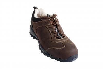ALTAITE (S3 HRO) barna színbőr cipő, 300°C hőálló talp, kompozit kapli, Welmax   talplemez LEP55-ös