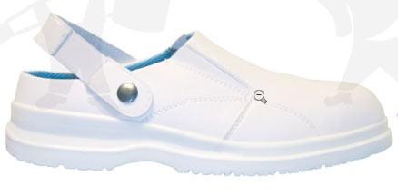OKENITE (S1-SRA) folyadéklepergető mikroszálas klumpa, levehető pánt, acélkapli, csúszásgátló talp LCG72-es