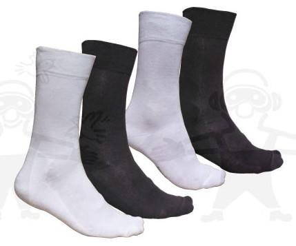 Comfort téli zokni 100% pamut,  antisztatikus, sötét színben GANZOKNI4XX