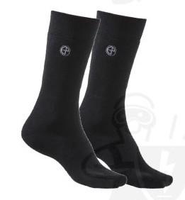 Arborea 95% Thermolite, 5% Spandex, hőszigetelő zokni, fekete ARBB3-4-es