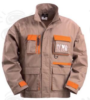 Carpenter kabát dzsekifazonú, rejtett húzózáras, nyolc zseb, plusz derékon hátsó nagy rekesz 8CARV bézs-narancs színben ***KIFUTÓ***