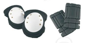 Térdvédő etilén-vinil-acetát párnázat, szellőző külső PVC burok, rugalmas pántok 78450-es
