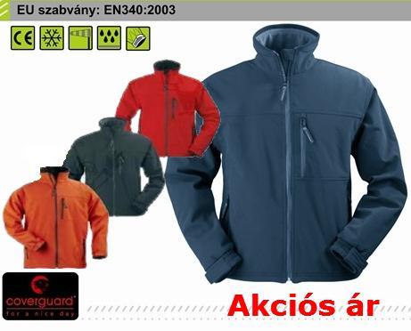 Coverguard munkaruha YANG (5YANR) víz- és szélálló softshell kabát, pulóver 5YAN