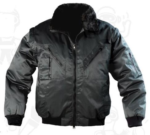 Coverguard munkaruha ZEFly (korábban XZEF)  fekete 5ZEFN vagy sötétkék XZEFB 3/1 dzseki, kivehető műszőrme bélés, levehető ujjak és gallér, vízhatlan poliészter