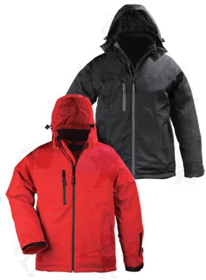 Coverguard munkaruha YANG WINTER 5YAWB és 5YAWR softshell télikabát fekete vagy piros színben