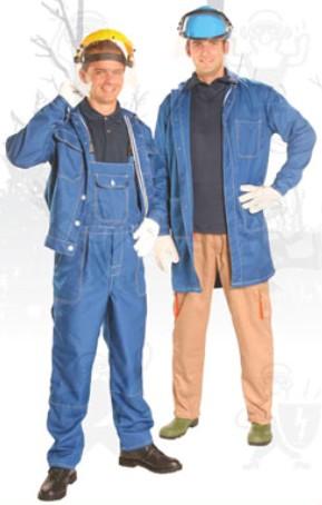 Nomex   ruha véd villamos ív-, lánghatás és olvadt fém fröccsenése ellen 50100-as