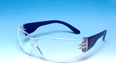3M munkavédelmi szemüveg 3M 2720-22 víztiszta, füstszürke vagy sárga karc és páramentes lencsével