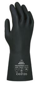 Uvex kesztyű Profapren vegyszerálló, szilikonmentes sötétkék neoprén, 0,75 mm / 33cm U60119