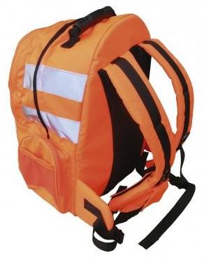 Jól láthatósági hátizsák, gyorskioldóval B904