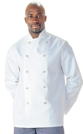 Portwest Sussex séfkabát (szakácskabát), prémium minőség, klasszikus kétsoros gombolás, műanyag nagyméretű gombokkal, C836