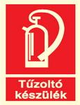 Tűzoltó készülék piktogram TT010