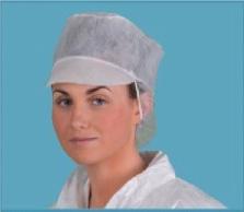 D103 PP élelmiszeripari sapka (Csomagolás: 3000db)