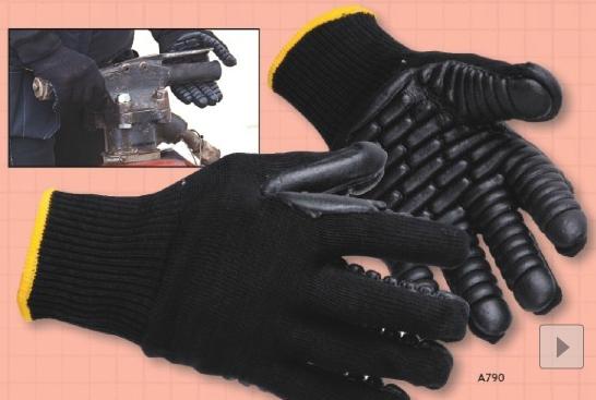 A790 Antivibrációs rezgéscsillapító kesztyű