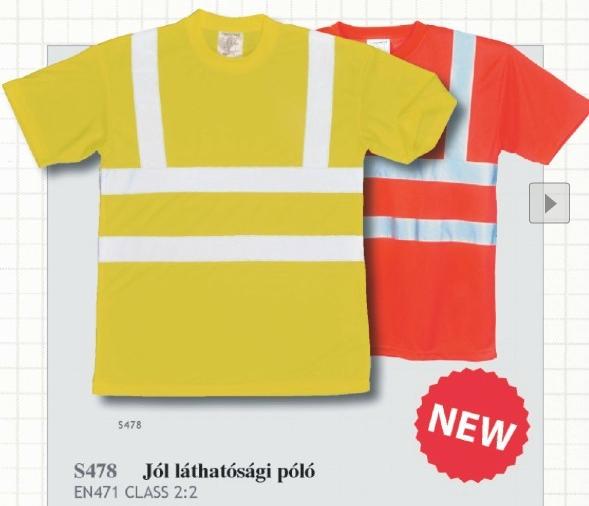 S478 Jólláthatósági póló