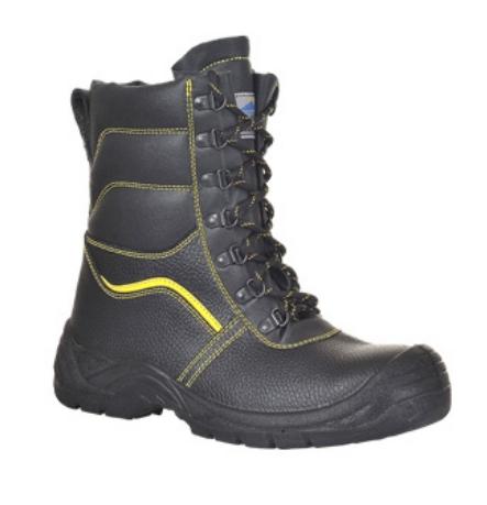 Portwest FW05 Steelite szőrmebéléses munkavédelmi magas szárú bakancs S3