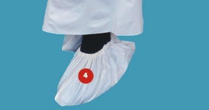 Portwest D440 pvc cipővédő 0.1mm