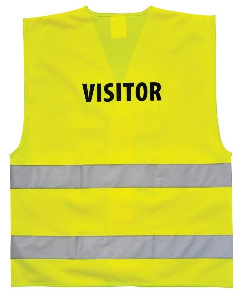 Portwest C405 Visitor munkavédelmi láthatósági mellény Visitor ( látogató ) felirattal