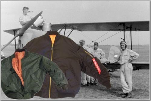 MA-1 Fekete bomber dzseki, pilóta kabát