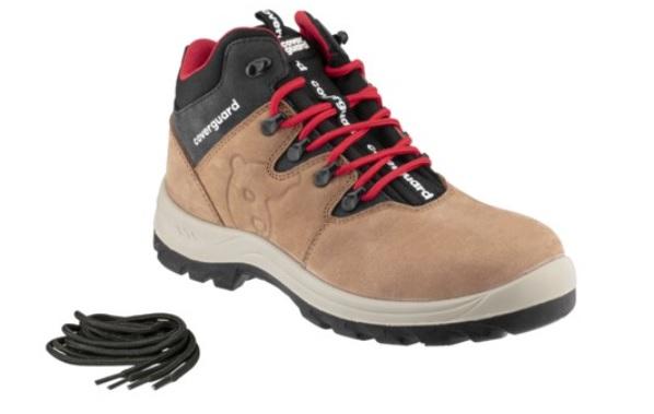 TREK (02) nubukbőr bakancs, trekking fazon, kényelmes talpbélés, kapli nélkül LEP75