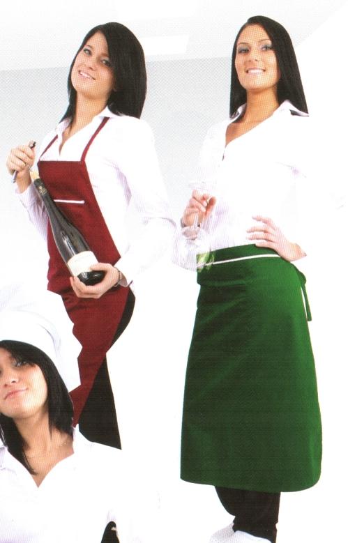 Coverguard munkaruha, gasztro ruha, női tunika fehér színű, gallér nélküli karcsúsított fazon, mely 245g/m2 kevertszálas (35% pamut, 65% poliészter) alapanyagból készült. 45890