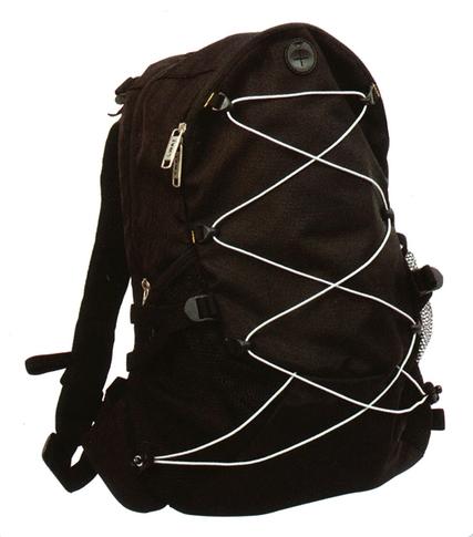 SBAGHB35 Coverguard hátizsák, két külső egy belső zseb, fekete színű kopásálló nylon 420D TPU
