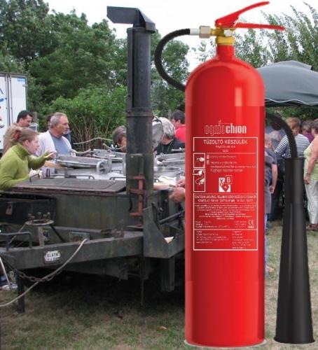Ogniochron GS-5xB 5 kg 55BC , széndioxid (CO2) gázzaloltó tűzoltó készülék