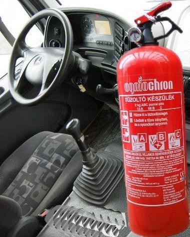 2 kg Ogniochron GP-2x ABC porraloltó tűzoltó készülék