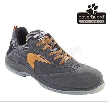 HELIOS (S1P CK) LEX22 nubuk bőr cipő, kompozit lábujjvédő és talplemez, szellőző bélés, Coolmax betét