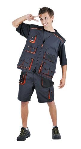 DESMAN nadrág 2 egyben lecipzározható szárú nadrág és sort, bermuda egyben.
