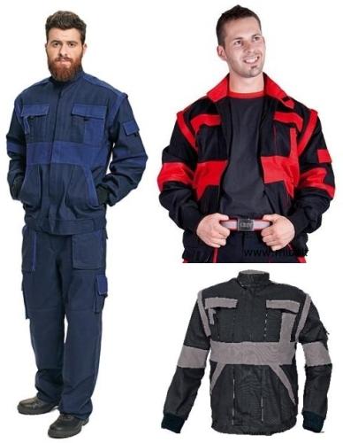 MAX kabát 2az1ben lecipzározható ujjal 260 g/m2 sötétkék/királykék, fekete/szürke, fekete/piros Cikkszám: c03010210510XX