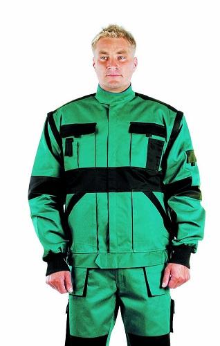 MAX kabát 260 g/m2 zöld/fekete