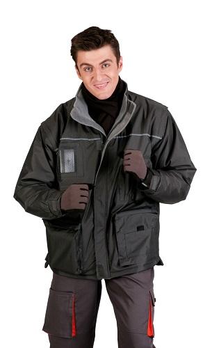 LIBRA (030100300000X) téli kabát szürke