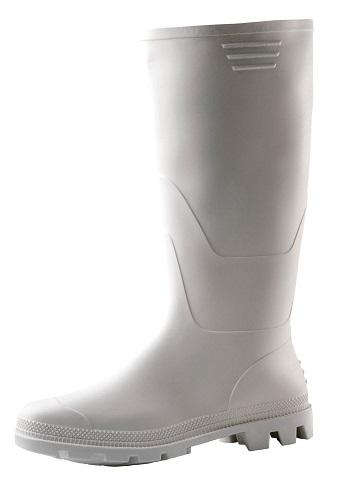 Ginocchio PVC csizma fehér