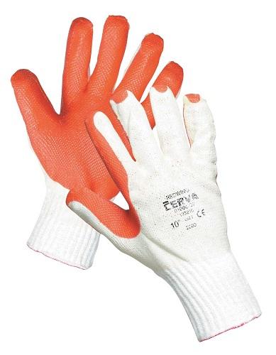REDWING mártott latex védőkesztyű - 10