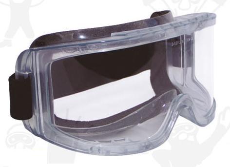 Lux  Optical munkavédelmi vegyszerálló, gumipántos védőszemüveg HUBLUX 60661-es