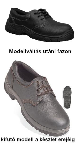 CYRANO (01) cipő (LEP10 vagy 9AGOL), olajálló, antisztatikus, acél nélkül munkás félcipő