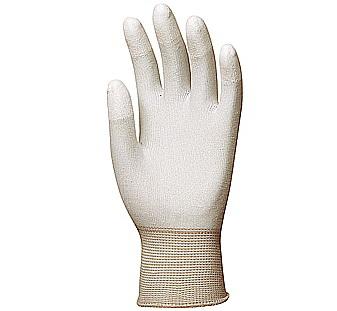 Poliamid szerelőkesztyű poliuretán ujjbeggyel 6157-60