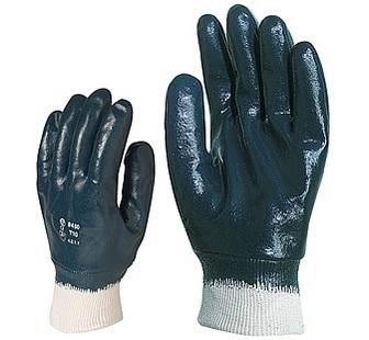 Nitril light Eco kézháton is mártott, kék vastag nitril,9448-as