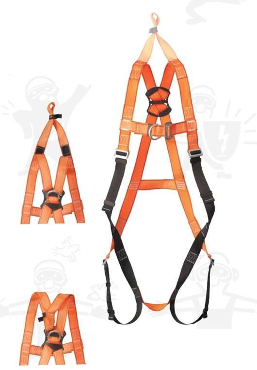 Save biztonsági mentő kikötési ponttal ellátott testhevederzet jól láthatósági narancs színű AP10R
