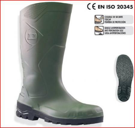 DUNLOP Devon acélbetétes PVC csizma (S5) D95238-47